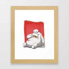 Hairy Babyyyy Framed Art Print