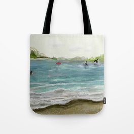 Quiet in the Sound Tote Bag