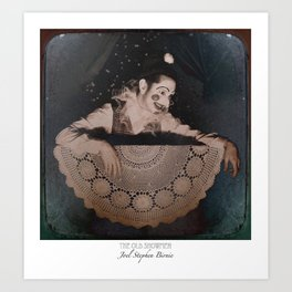 The Old Showmen IV (c)2015 JSBirnie Art Print