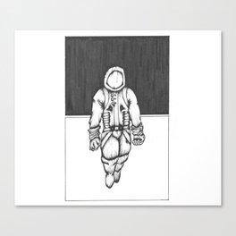 Colliding Space Canvas Print