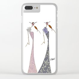 Fanny & Diana Clear iPhone Case