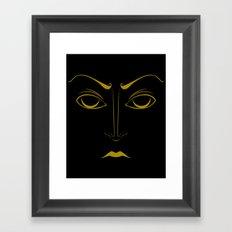 Eclipse Eyes Framed Art Print