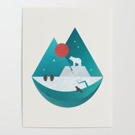 Arctic Antarctica Poster