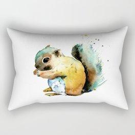 Squirrel - Nuts Rectangular Pillow
