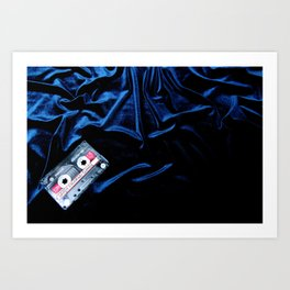 Blue Velvet (Blue Movies) Art Print