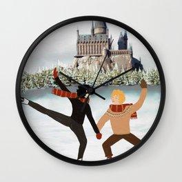 Hogwart winter ice Potter Wall Clock