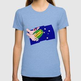 Australia Rugby Ball T-shirt