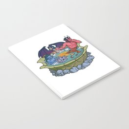 The Party That Bathes Together Stays Together Notebook