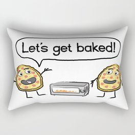 Let's Get Baked! Rectangular Pillow