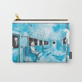 Underwater Subway Carry-All Pouch