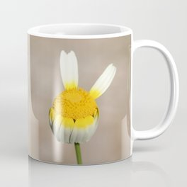 Hippie flower making peace sign Coffee Mug