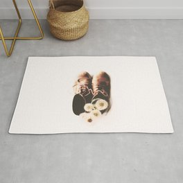 do small things with much love Rug