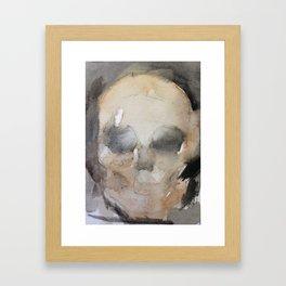 SkullWash Framed Art Print