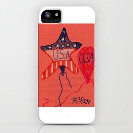 Patriotic iPhone Case