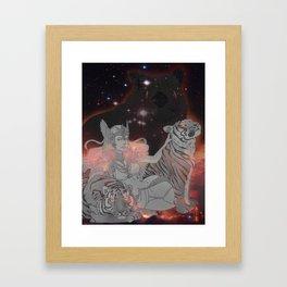 Freya Framed Art Print