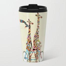 giraffe days lets tandem Travel Mug