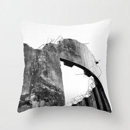 Demolish Throw Pillow