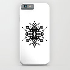 Tribal Black and White iPhone 6s Slim Case