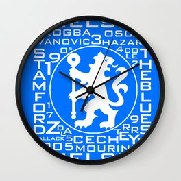 MixWords: Chelsea Wall Clock