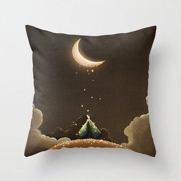 Moondust Throw Pillow
