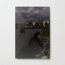 Big Apple Skyline Metal Print