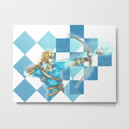 Link and the antique arrow Metal Print
