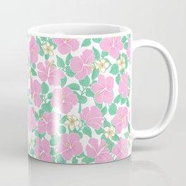 Hibiscus and Plumeria Coffee Mug