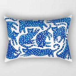 Cat club Rectangular Pillow