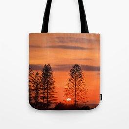 Kings Beach Sunrise Tote Bag