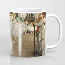 Degas Ballerinas - Dance Class Coffee Mug