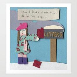 Mail Art Print