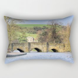 Bakewell bridge 1 Rectangular Pillow