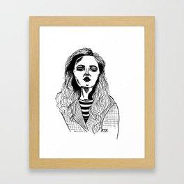 That feeling Framed Art Print