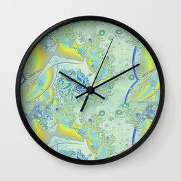 Ghosting 3D Fractal Wall Clock