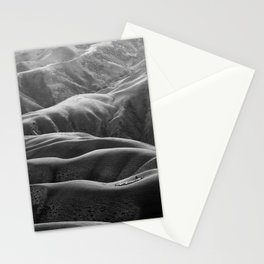 Endless Valleys (Black and White) Stationery Cards