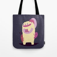 mother Tote Bags featuring Mother by Maria Jose Da Luz