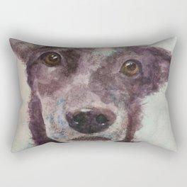 Parson, the cattle dog Rectangular Pillow