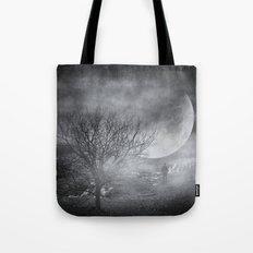 Dark night sky paradox Tote Bag