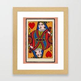 Queen of Pop Framed Art Print