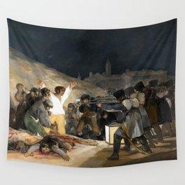 Francisco de Goya The Third of May 1808 Wall Tapestry