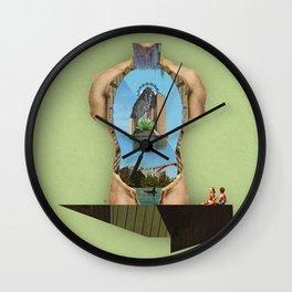 Interiora   Innards Wall Clock
