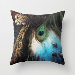 Gaia's Garden 2 Throw Pillow