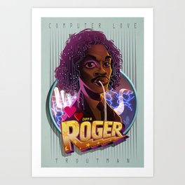 Roger troutman Art Print