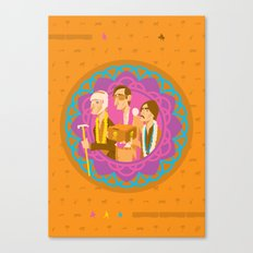 The Darjeerling Limited Canvas Print