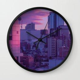 Tokyo Never Sleeps Wall Clock
