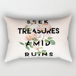 Seek Treasure Rectangular Pillow
