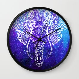 Heavenly Elephant Wall Clock