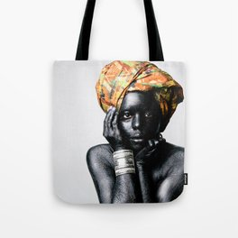 Young Mother Africa Tote Bag