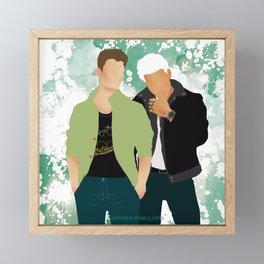 Headstrong Lovers Framed Mini Art Print