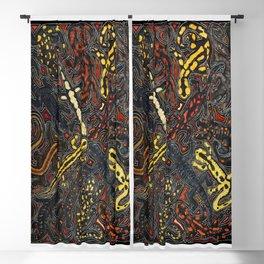 Salamanders Blackout Curtain